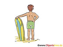 Surf image gratuite - Loisir cliparts