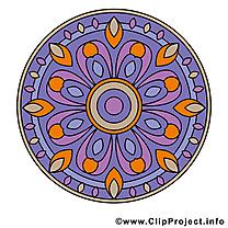 Images mandala clip art gratuit
