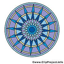 Mandala dessin clip arts gratuits