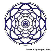Méditation mandala image à télécharger gratuite
