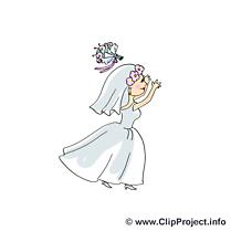 Bouquet image gratuite - Mariage illustration