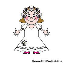 Femme clip art gratuit – Mariage images