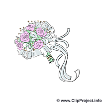 Fleurs image - Mariage images cliparts