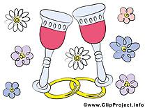 Fleurs image à télécharger - Mariage clipart