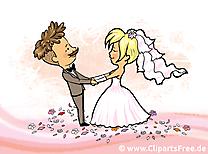 Jeunes mariés images - Mariage clip art gratuit