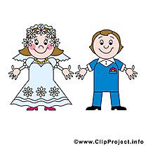 Noce images - Mariage dessins gratuits