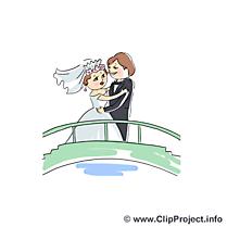Pont illustration - Mariage images