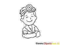 Coloriage médecin - Médecine images cliparts