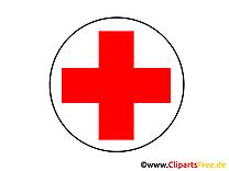 Croix rouge dessin - Médecine à télécharger