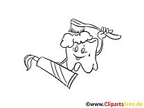 Dentifrice image gratuite – Médecine clipart