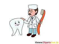 Dentiste illustration - Médecine images