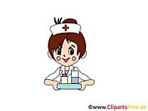 Images infirmière - Médecine dessins gratuits