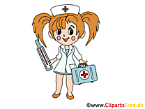Infirmière cliparts gratuis - Médecine images