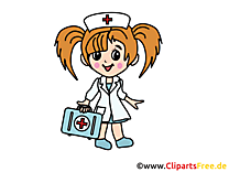 Infirmière image gratuite - Médecine cliparts