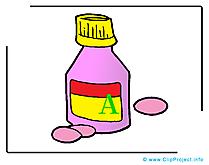 Médicaments clipart - Médecine dessins gratuits
