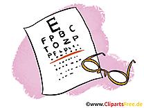 Ophtalmologue dessin - Médecine clip arts gratuits