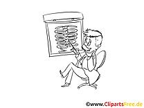 Radiogramme dessins à imprimer - Médecine clipart