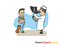 Radiogramme image - Médecine clipart