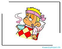 Rhume dessin gratuit - Médecine image