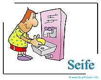 Savon illustration gratuite - Médecine clipart