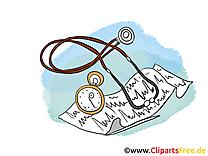 Stéthoscope clip art – Médecine gratuite