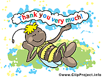Abeille dessins gratuits - Merci clipart