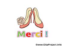 Chaussures images - Merci dessins gratuits