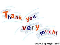 Clipart merci beaucoup gratuit images