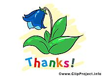 Clochette image gratuite – Merci clipart