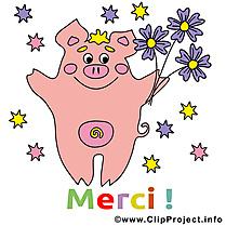 Cochon merci à télécharger gratuite
