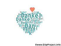 Coeur clip art gratuit - Merci dessin