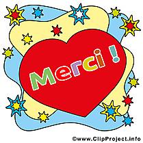 Coeur dessin gratuit - Merci image