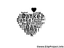 Coeur image gratuite - Merci illustration