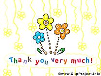 Fleurs clip art gratuit – Merci images