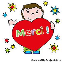 Garçon coeur images gratuites – Merci clipart