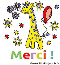 Girafe cliparts gratuis - Merci images