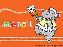 Hippopotame dessin - Merci à télécharger