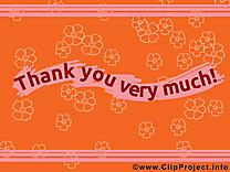 Merci clip art gratuit dessin à télécharger