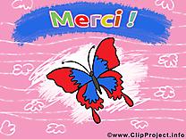 Papillon clip art – Merci gratuite