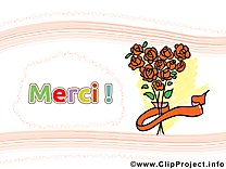 Roses illustration - Merci images