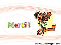 Roses illustration - Merci images