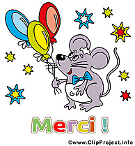 Souris image - Merci images cliparts