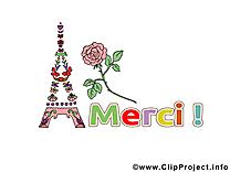Tour Eiffel image à télécharger - Merci clipart