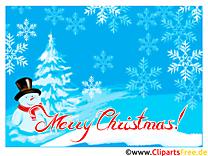 Carte de Noël - Souhaitez un joyeux Noël