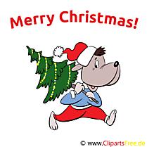 Merry Christmas (Cartes de Noël en anglais)