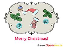 Carte Joyeux Noël gratuite
