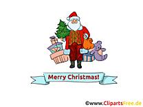 Carte virtuelle Joyeux Noël gratuit