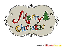 Carte virtuelle Merry Christmas gratuite