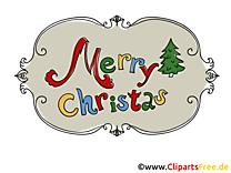 Carte virtuelle Merry Christmas gratuite