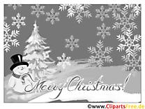 Carte virtuelle Noël gratuit